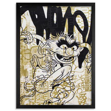 Avone & Matt Siren Art Print - Animal - Gold Variant