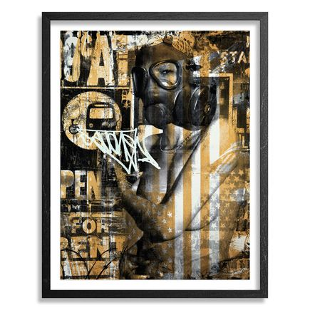 Avone Art Print - The Shelter - Gold Edition