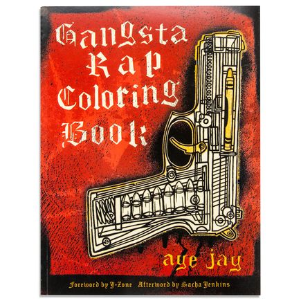 Aye Jay Book - Gangsta Rap Coloring Book