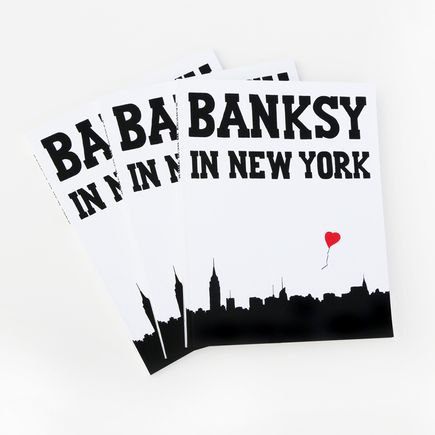 Ray Mock Book - Banksy In New York