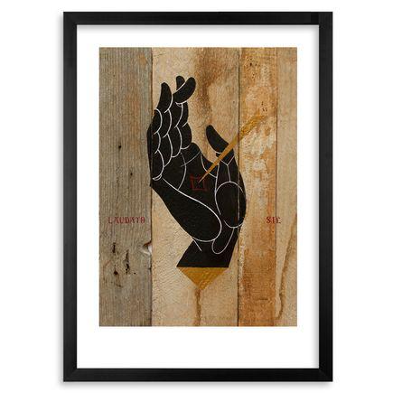 Basik Art Print - Franciscus Et Seraphim