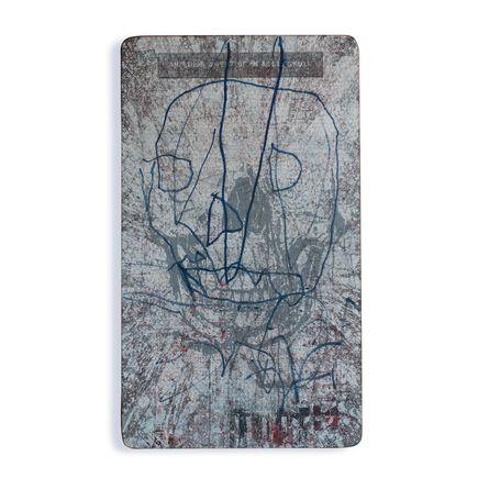 Bask Original Art - Anterior Aspect Of An Adult Skull