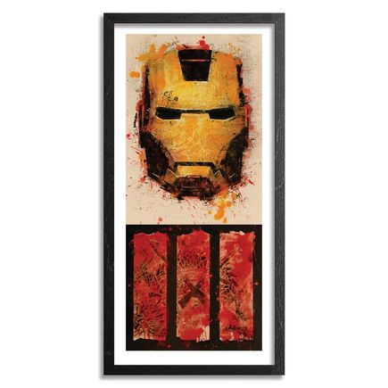 Bask Art Print - Iron Man 3 - Box Office Edition - Framed