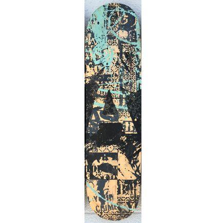 Bask Original Art - BASK Board-slide - A - Hand-Painted Multiple