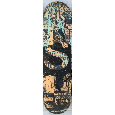 Bask Original Art - BASK Board-slide - S - Hand-Painted Multiple
