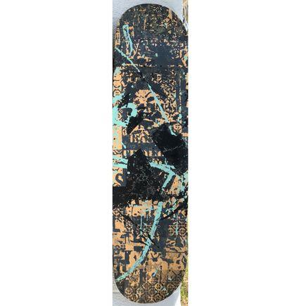 Bask Original Art - BASK Board-slide - K - Hand-Painted Multiple