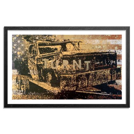 Bask Art Print - Turnt - Hand-Painted Limited Edition Prints