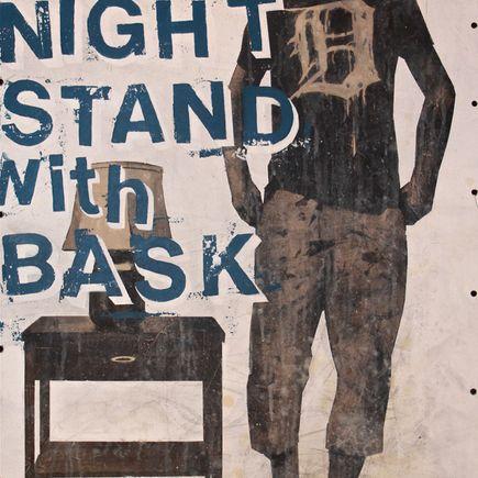Bask Original Art - One Night Stand Detroit - Original Artwork