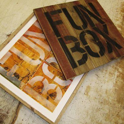 Bask Original Art - Fun Box Embellished Edition
