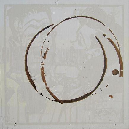 Bask Original Art - Gold Digger And Her Man