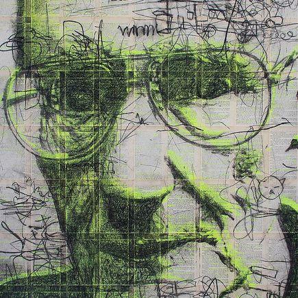 Bask Original Art - Junky