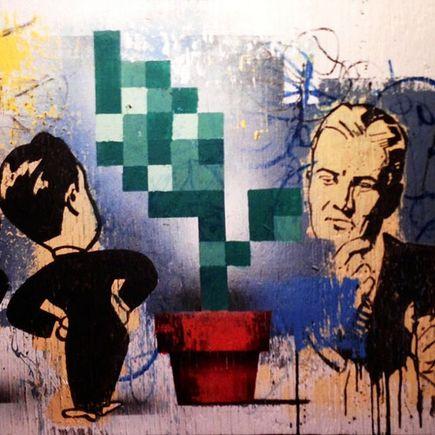 Bask Original Art - Roadhouse Study