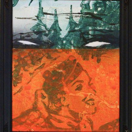 Bask Original Art - Scenic Riot 8