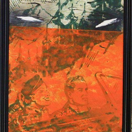Bask Original Art - Scenic Riot 9