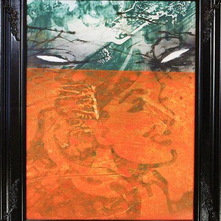 Bask Original Art - Scenic Riot 10