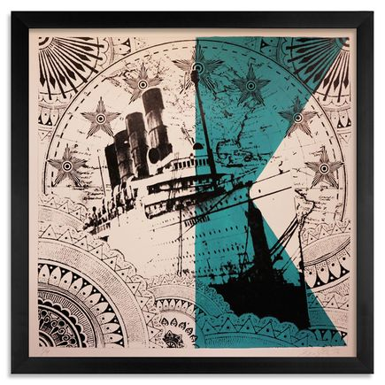 Beau Stanton Art - Maritime Alphabet - (A) Alpha - Limited Edition Prints