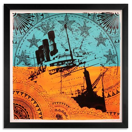 Beau Stanton Art - Maritime Alphabet - (E) Echo - Limited Edition Prints
