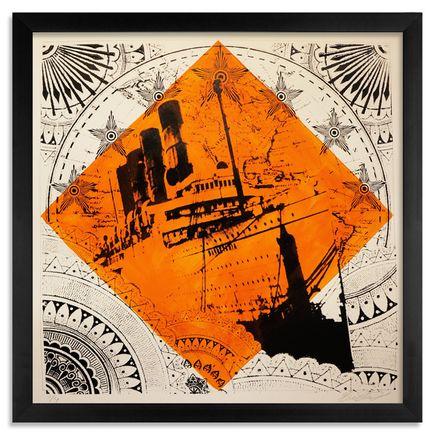 Beau Stanton Art - Maritime Alphabet - (F) Foxtrot - Limited Edition Prints