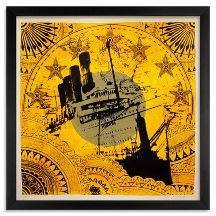 Beau Stanton Art - Maritime Alphabet - (I) India - Limited Edition Prints