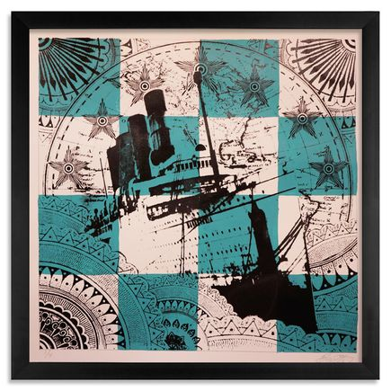 Beau Stanton Art - Maritime Alphabet - (N) November - Limited Edition Prints