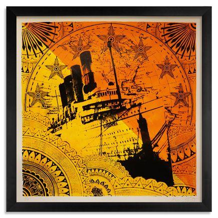 Beau Stanton Art - Maritime Alphabet - (O) Oscar - Limited Edition Prints