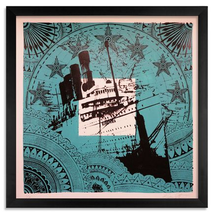 Beau Stanton Art - Maritime Alphabet - (P) Papa - Limited Edition Prints