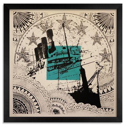 Beau Stanton Art - Maritime Alphabet - (S) Sierra - Limited Edition Prints