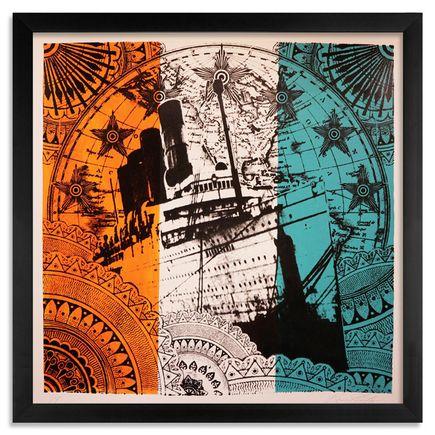 Beau Stanton Art - Maritime Alphabet - (T) Tango - Limited Edition Prints