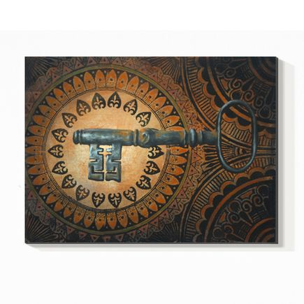Beau Stanton Original Art - Skeleton Key 1 - Original Painting