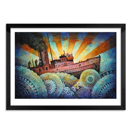 Beau Stanton Art Print - A Precarious Voyage - Limited Edition Prints