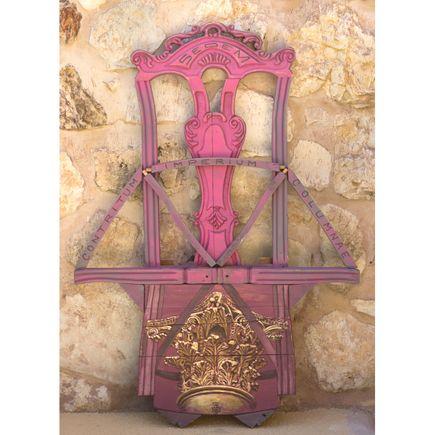 Beau Stanton Original Art - Seat of Power (Broken Column) - Original Artwork