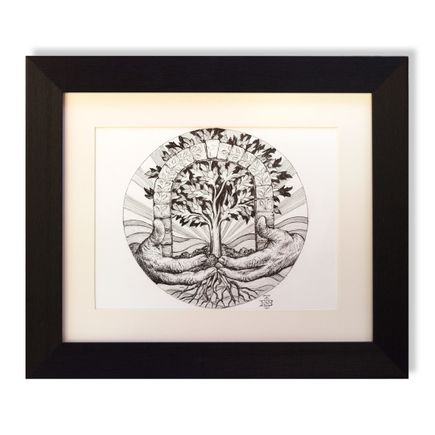 Beau Stanton Original Art - Sigil of El Housh - Original Study