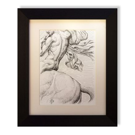 Beau Stanton Art Print - St. George - Original Study II