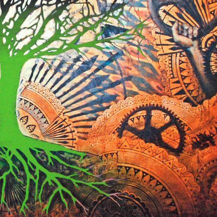 Beau Stanton Art Print - Alchemic Bloom Green  Variant