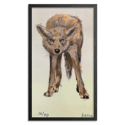 Becca Midwood Art Print - Wolfie