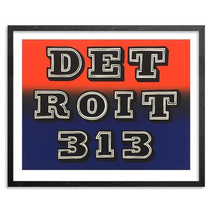 Ben Eine Art Print - Detroit 313