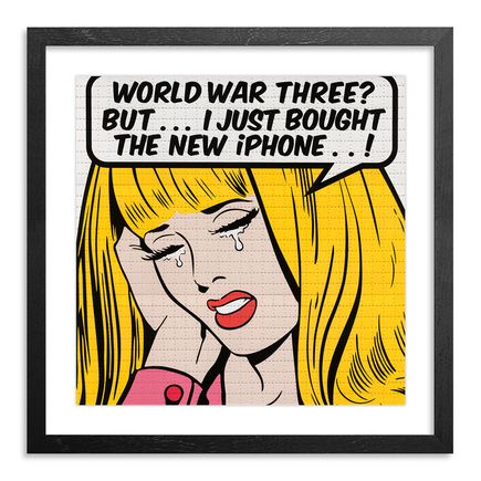 Ben Frost Art Print - World War Three? - Blotter Variant