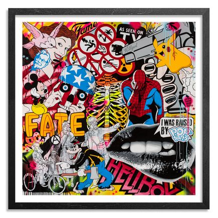 Ben Frost Art - Know Your Product - 17 x 17 Edition - Framed