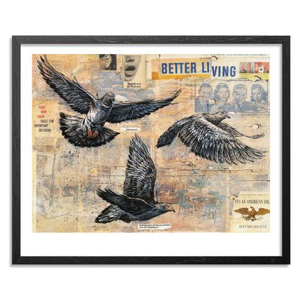 Ben Horton Art - Better Living - Framed
