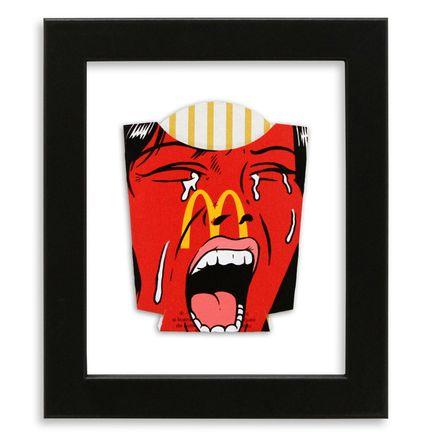 Ben Frost Original Art - Eat In Or Take Away?