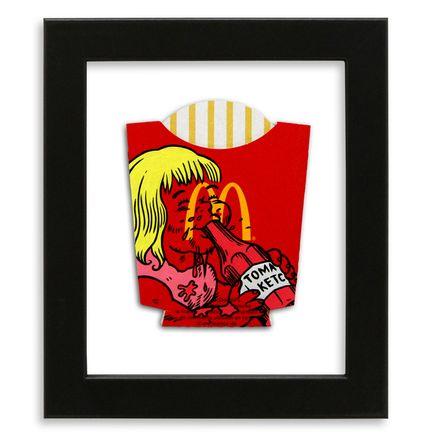 Ben Frost Original Art - Pass The Ketchup