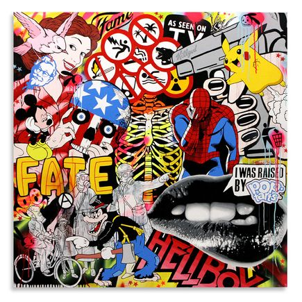Ben Frost Original Art - Know Your Product - Original Painting
