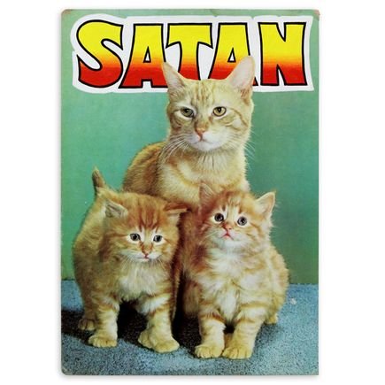 Ben Frost Original Art - Satan