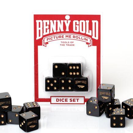 Benny Gold Art Print - Picture Me Rollin' Dice Set