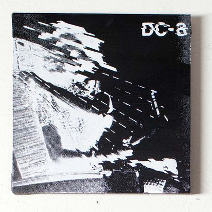 Bethany Shorb Art - DC8 III - Black + White