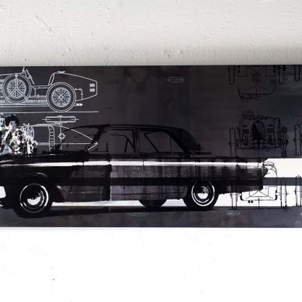Bethany Shorb Original Art - Ford Whisperer (Steel Edition)