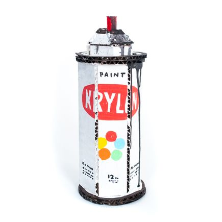 Bill Barminski Original Art - Spray Can 08