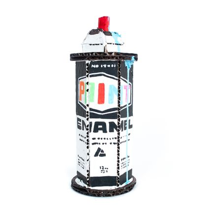 Bill Barminski Original Art - Spray Can 12