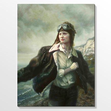 Billy Norrby Original Art - Aviator - Original Artwork