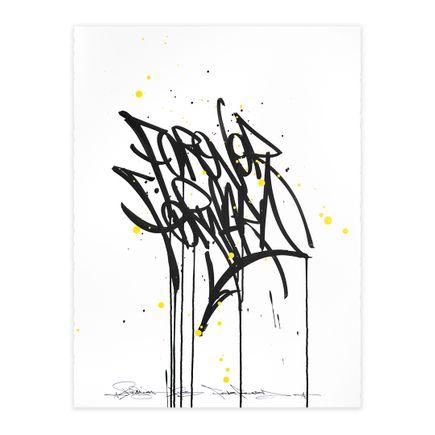 Bisco Smith Original Art - Forever Forward I - Work on Paper